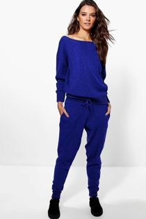 Royal Lounge Wear Knitted Set