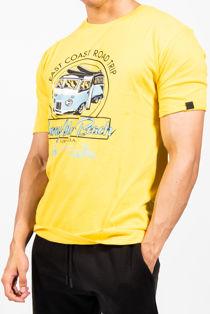 Road Trip Graphic Crew Neck T-Shirt