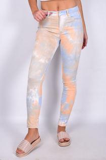 Tie Dye Five Pocket Skinny Jean