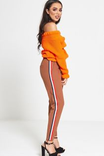 Tricolour Side Stripe Trouser