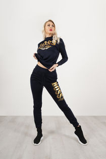 Navy Boss Lady Customized Tracksuit