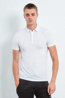 White Short Sleeve Polo T-Shirt