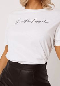 White Sweet But Psycho Tee