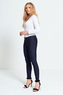 Blue Skinny Jegging Jeans