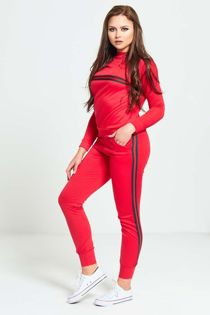 Red And Green Stripe Tracksuit