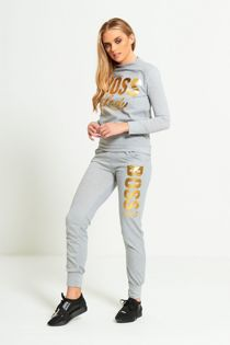 Plus Size Khaki Boss Lady Customized Tracksuit