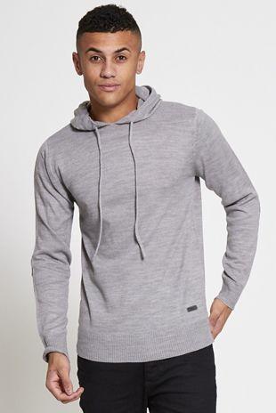 Grey Hood Sweatshirt