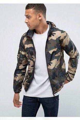 Camo Cagoule Jacket
