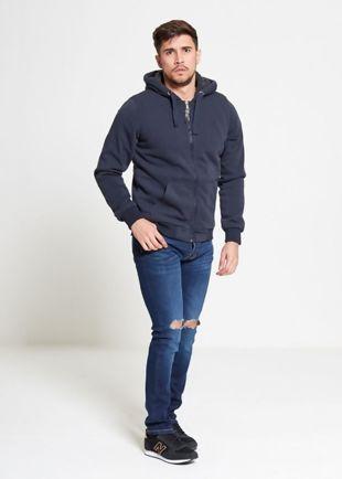 Denim Knee Ripped Jeans