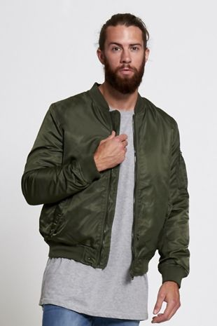 Green Hollywood Bomber Jacket