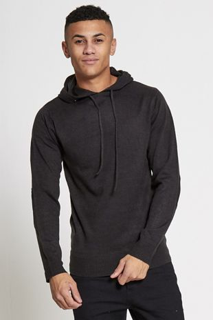 Black Hood Sweatshirt