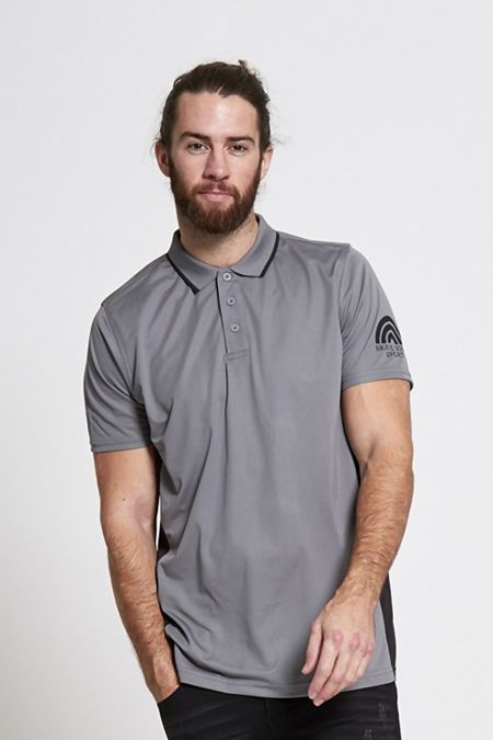 Charcaol Sports Polo Shirt