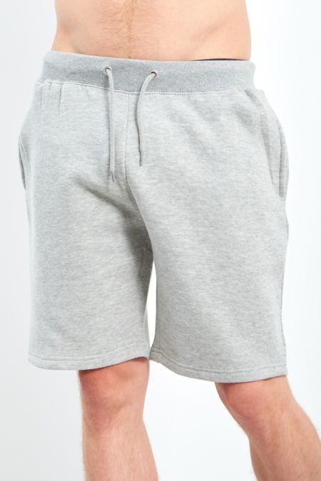 Grey Classic Plain Shorts