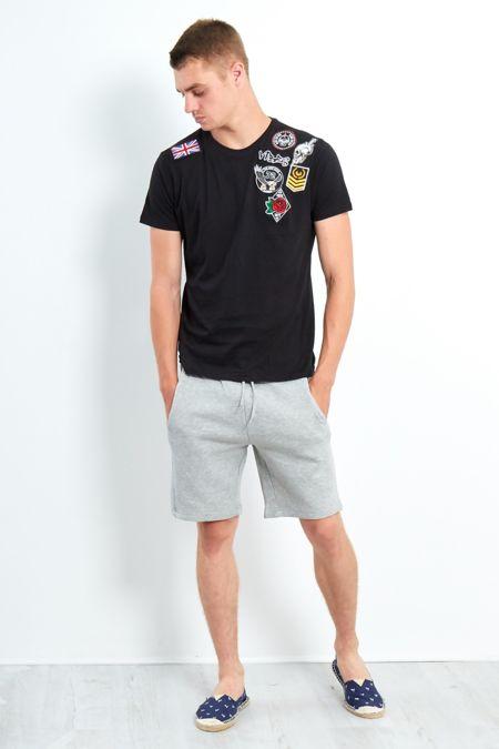 Shoulder Patch T-Shirt