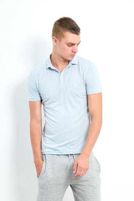 Aqua Plain Polo Classic T-Shirt