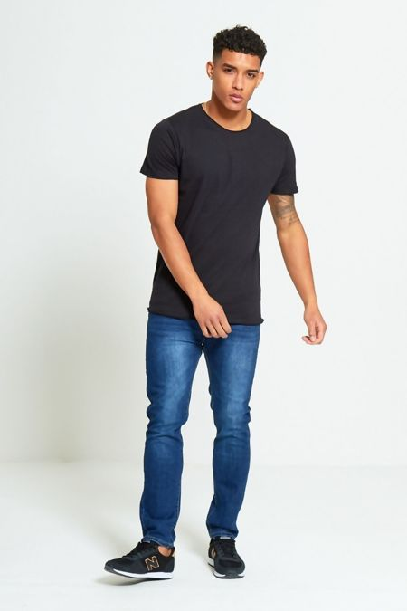 Black Basic Loose Fit T-Shirt