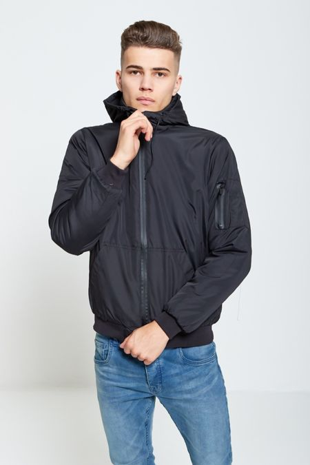 Black Light Weight Bomber Jacket