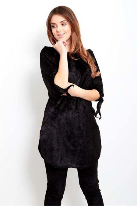 Black Velvet Lounge-Wear