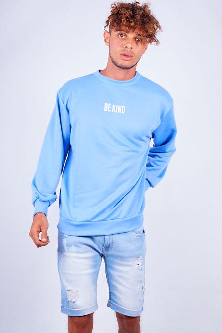 Blue Be Kind Sweatshirt