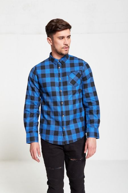 Blue Jack Checked Shirt