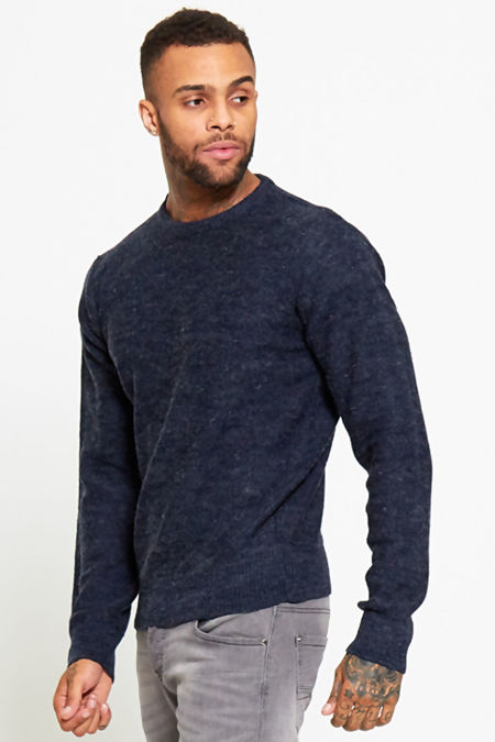 Blue Sample Knitted Jumper