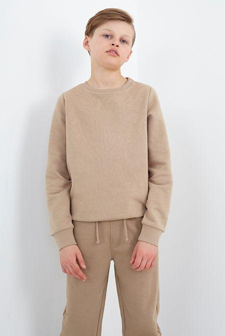 Boys Stone Overhead Crew Neck Sweatshirt