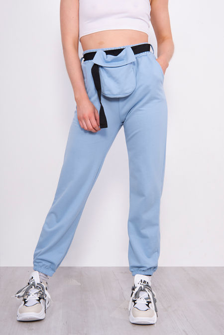 Bum Bag Belted Joggers