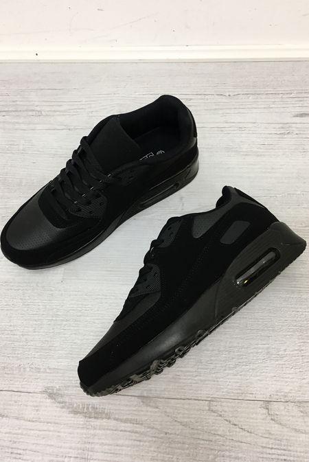 Black Clear Sole Sneakers