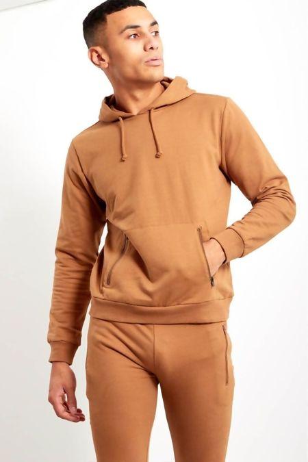 Camel Cords Basic Slim Fit Skinny Tracksuit