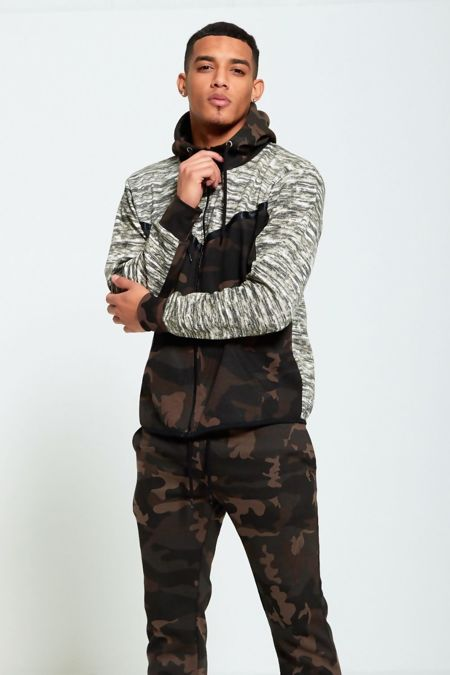 Camo Space Dye Panel Tracksuit