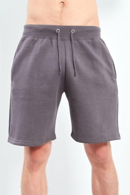 Charcoal Classic Plain Shorts