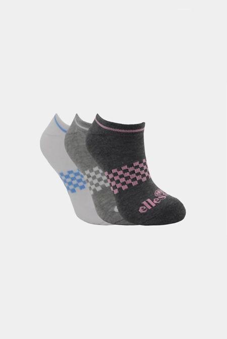 Chessboard Ellesse Socks 3P