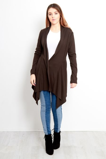 Rib Waterfall Cardigan