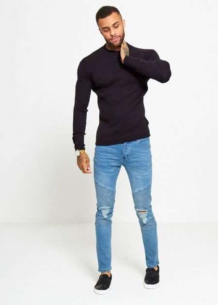 Crew Ribbed Jumper
