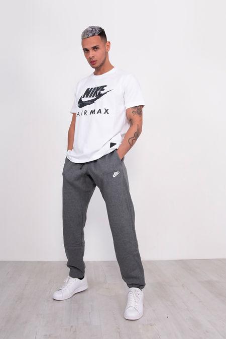 Charcoal Nike Club Fleece Joggers