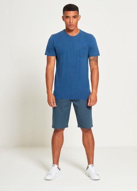 Denim Plain Pocket T-Shirt