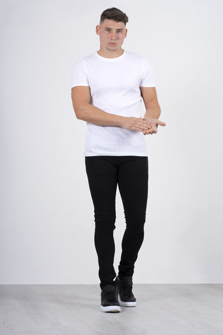 Black Basic Skinny Fit Jeans