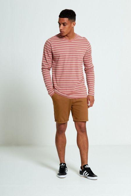 Dusty Crew Breton Stripes Long Sleeve T-shirt