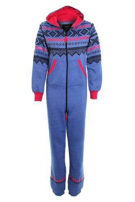 Denim Aztec Onesie