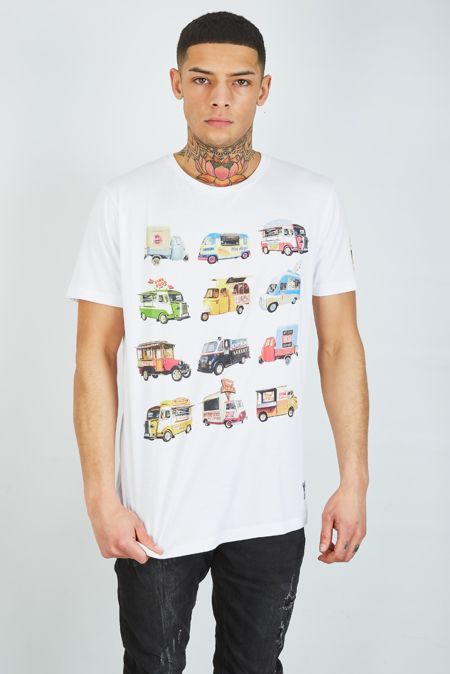 Food Feast Printed T-Shirt
