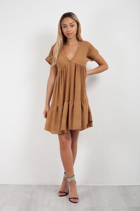 Frill Smock Dress