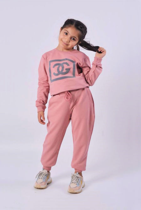 Girls Dusty Reflective CG Logo Loungewear Set