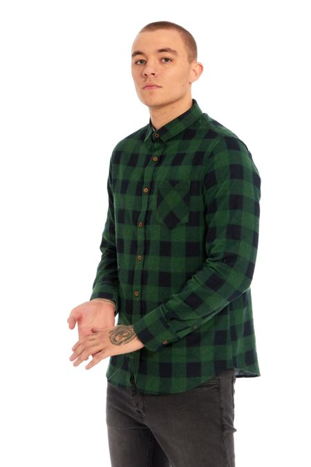 Green Jack Checked Shirt