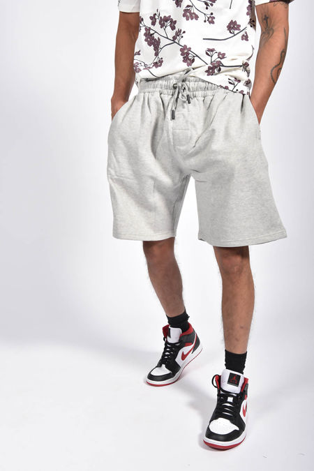 Grey Basic Jogger Shorts