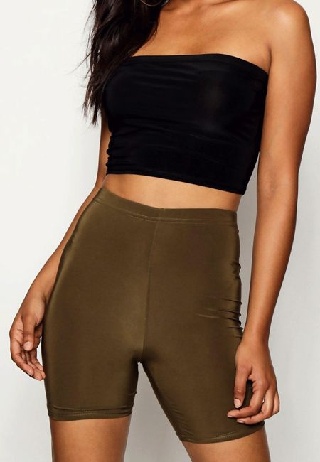 Khaki Slinky Cycling Shorts
