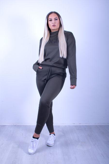 Khaki VOGUE Loungewear Set
