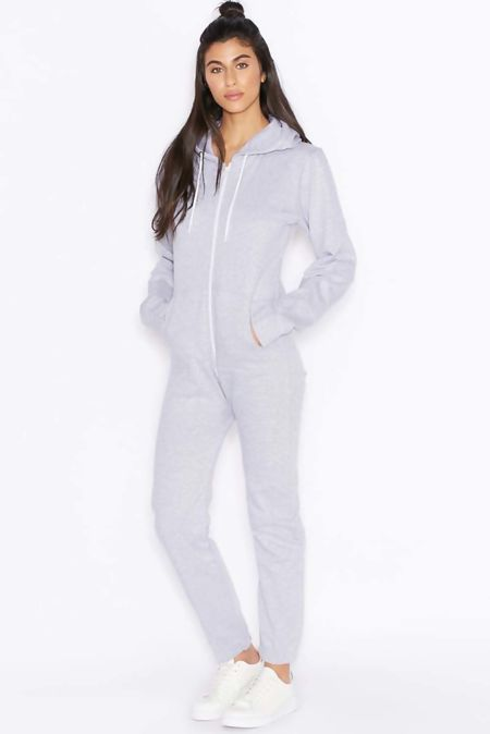 Light Grey Jersey Plain Onesie