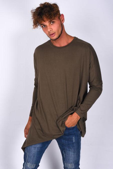 Long Sleeve Longline T-Shirt
