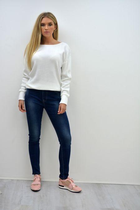 Light Wash Denim Jegging Jeans