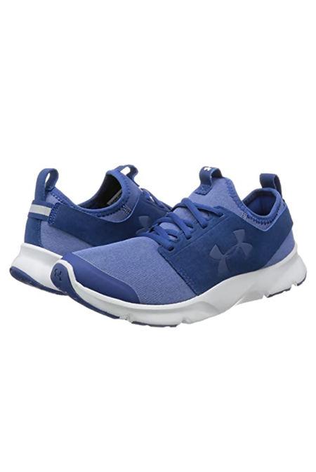 Mens Blue Under Armour Ua Drift Rn Mineral Training Shoes